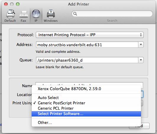 Xerox Printer Drivers Windows 7